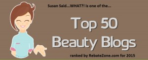 Top Beauty Blogs Button