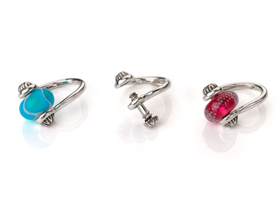 Interchangeable Bead Rings? Just Add WHIMSY
