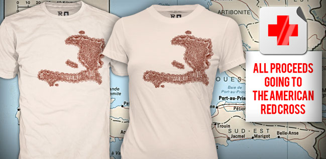 Haiti Thanks You T-Shirts Available