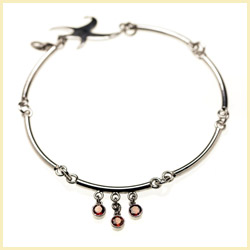 Convertible Jewelry: Anklet, Bootlet AND necklace