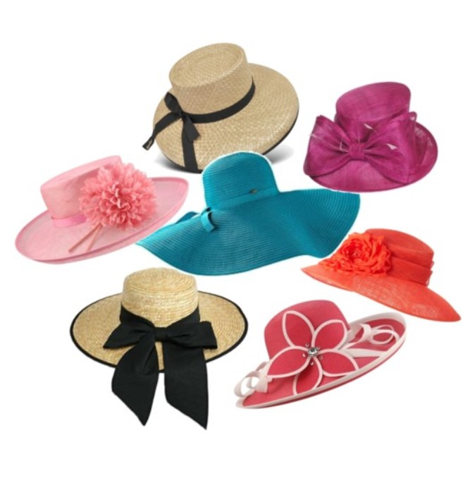 Kentucky Derby Inspired Spring Hats for Winterthur's Point to point Steeplechase