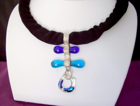 Purple Cloud Studio: Win a Fused Glass Necklace