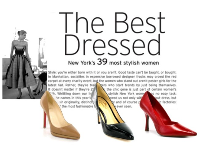Pointy Toe Pumps for fall recall 1950s Hollywood glam legends