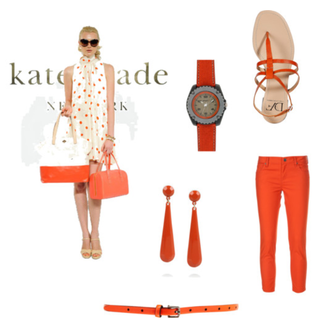Trendy tangerine: Top picks for spring faashion