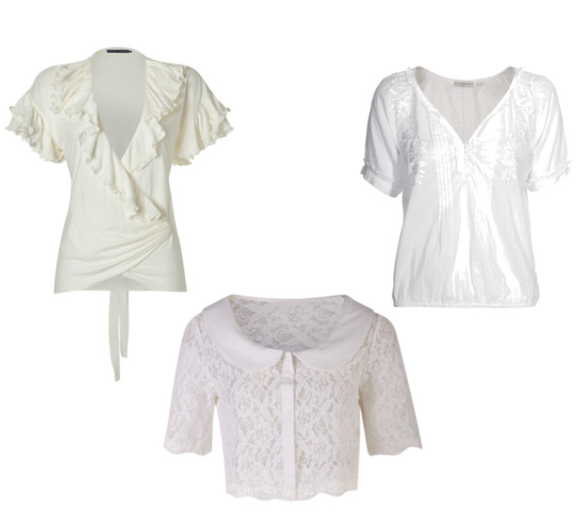 The perfect white blouse - a travel essential!