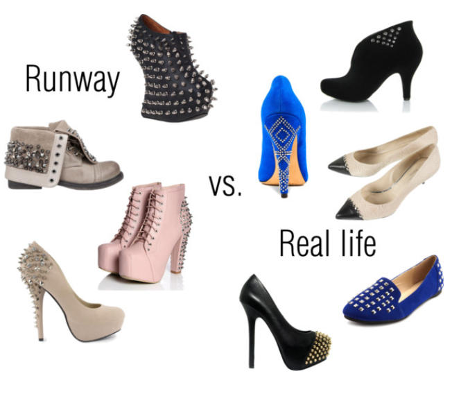 Studded Shoe Trend