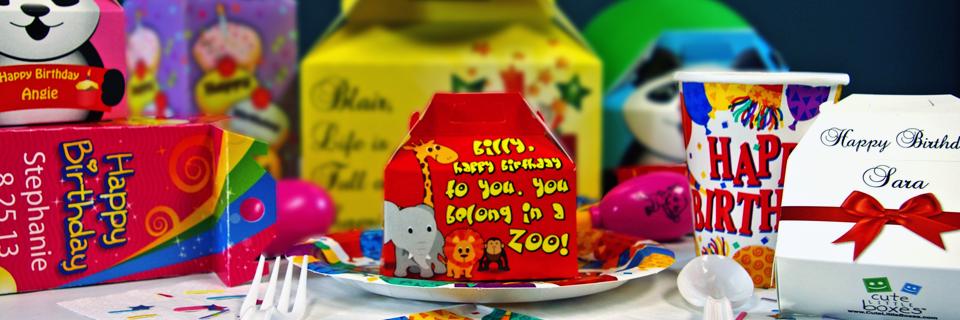 Cute Little Boxes Party Favors Giveaway