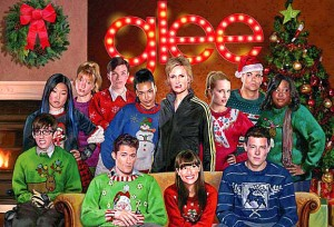 Even the kids of GLEE rock their Ugly Christmas Sweaters!