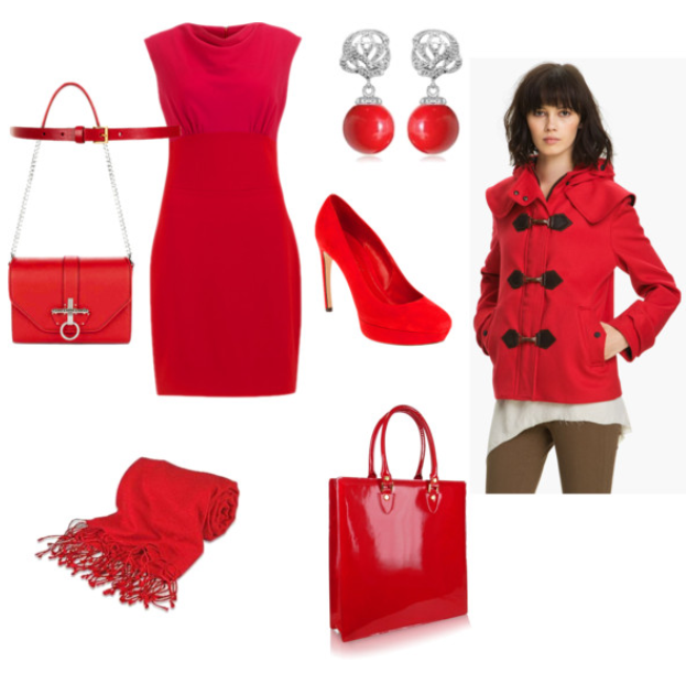 Lady in red - get noticed this season