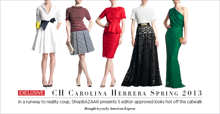 Carolina Herrara ShopBazaar Fashion Week Finale Sweepstakes