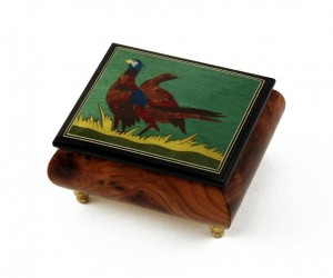 Pheasant Music Box