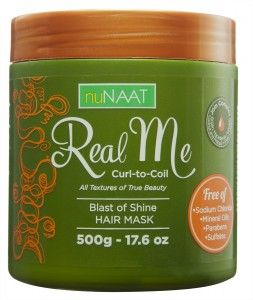 nuNAAT Blast of Shine Hair Mask, Real Me Collection