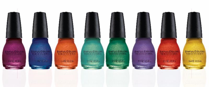 Crystal Crush Collection by Sinful Colors, Fall 2013