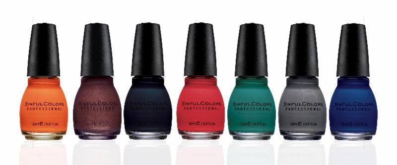 Leather Luxe Collection by Sinful Colors, Fall 2013