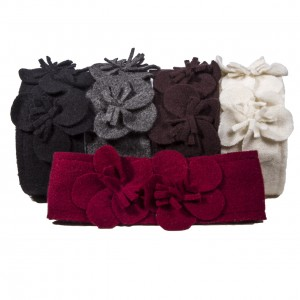 Scala Collection, Fall 2013, Callahan Headband with rosettes