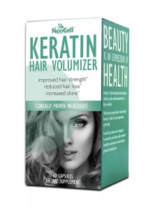 NEO CELL Keratin Hair Volumizer. Collegen Supplements from NeoCell: Giveaway!