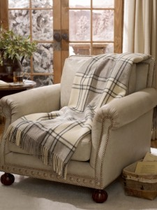 Plaid Throws for Devoted Fall Sports Fans: Ralph Lauren Alpine Lodge Wool Throw. On sale now for $209.55 at RalphLaurenHome.com