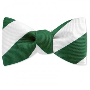 TIES.com, Collegiate Stripe silk bow tie