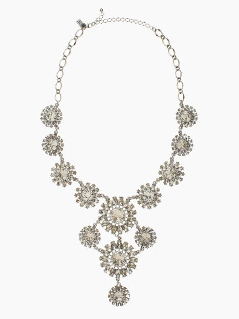 KATE SPADE Estate Garden Statement Necklace