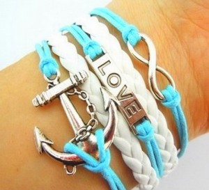 Leather Charm Bracelets: Sweet for Spring