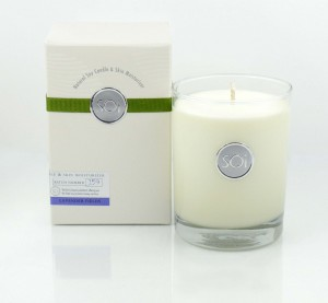 Candles from The SOi Company are soy based and non toxic. A must-have!