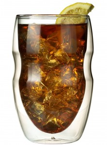 Serafino Double Wall Insulated Beverage Glasses. Insulated Beverage Glasses: A Party Planner's Secret Weapon
