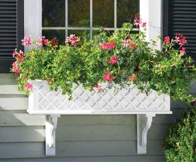 WALPOLE, Lattice Window Box