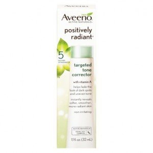 AVEENO® POSITIVELY RADIANT® TARGETED TONE CORRECTOR