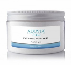 Adovia Exfoliating Facial Salts, $19
