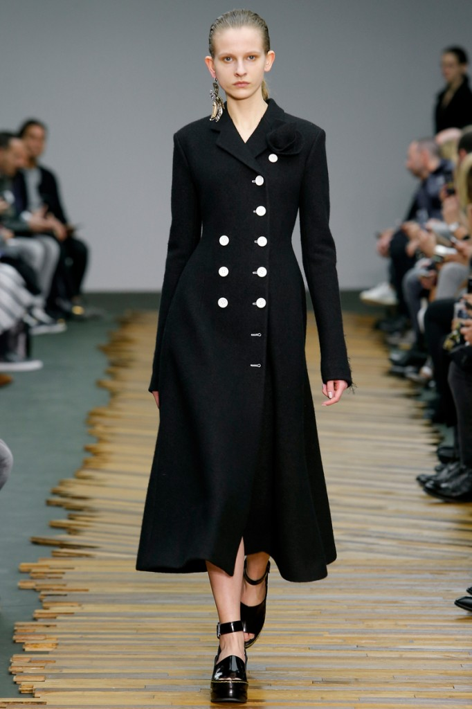 Céline, blue miltary coat