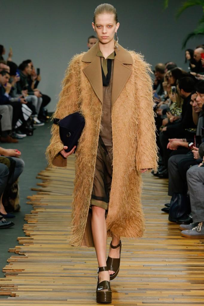 Céline, camel coat