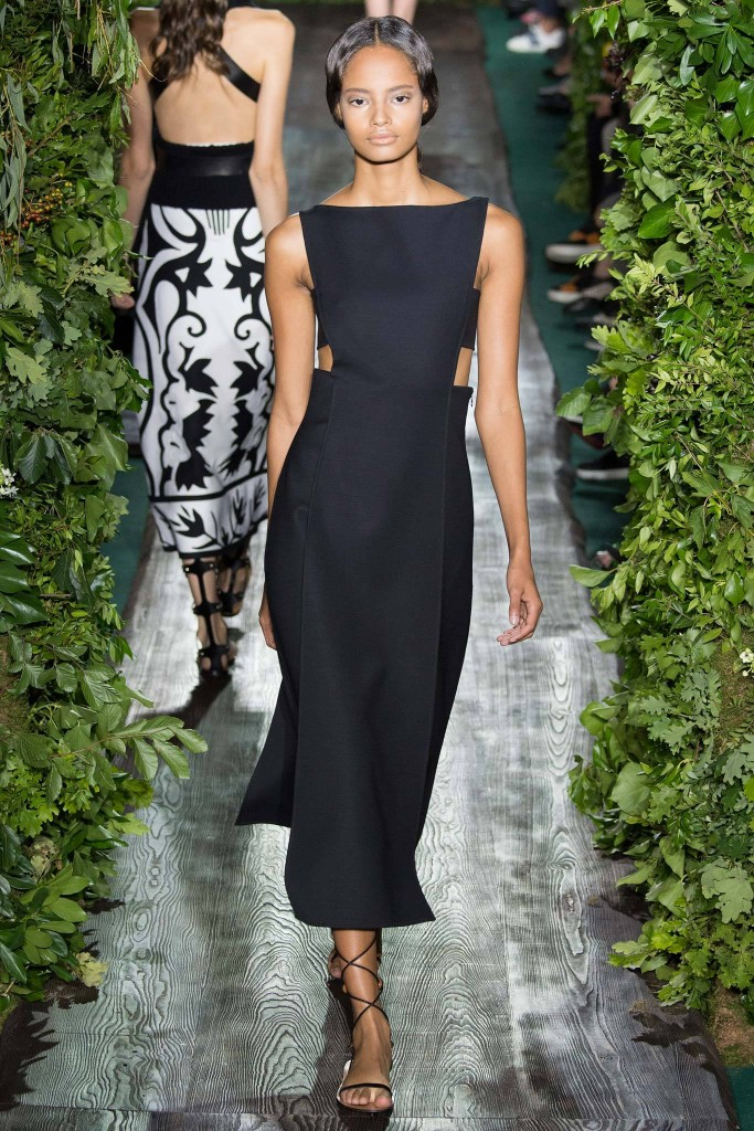 Valentino, Fall RTW LBD with cut outs