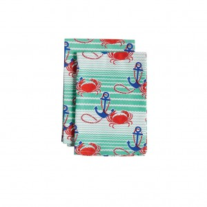 Trademark Jessie Steele fabrics are now available in housewares, too! The Nautical Waves Cloth Napkin is one of my favorites!