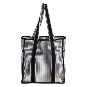 Jessie Steele Striped Classic Canvas Tote 2014