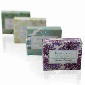 Keomi soap, with wrappers
