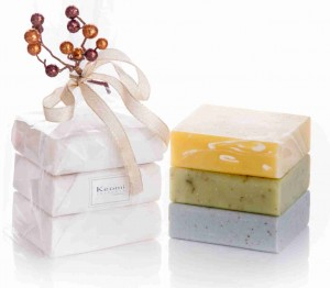 Keomi soap, without wrappers