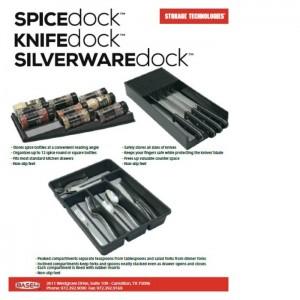 Spice Silverware and Knife docks