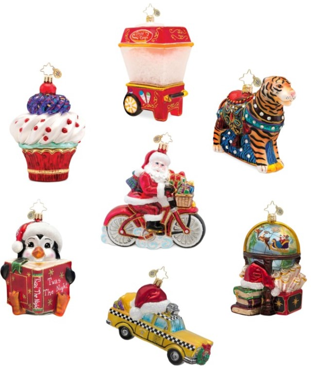 Christopher Radko Ornaments Embody the Christmas Spirit