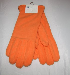 Portolana Orange Women's Gloves