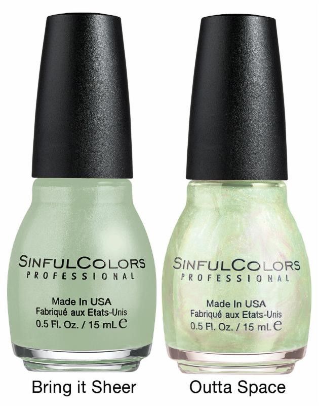 Sinfulcolors, Opalescent Toppers, Holiday nailpolishes, 2014