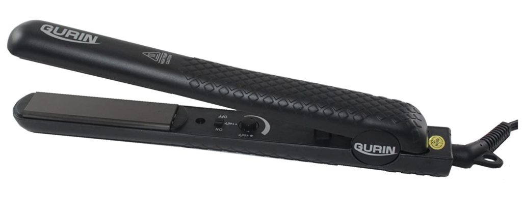 Get sleek, sophisticated hairstyles fast with the Gurin Ceramic Tourmaline Flat Iron Hair Straightener!