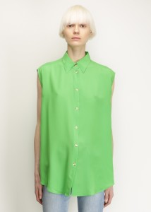 TOTOKAELO, Acne Studios, Fresh Grass Green Clio Top