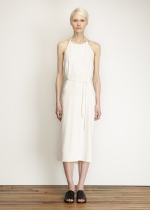 TOTOKAELO, Base Range, Off white apron dress