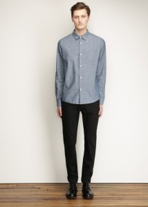 APC Indigo Ryan Button Up $190