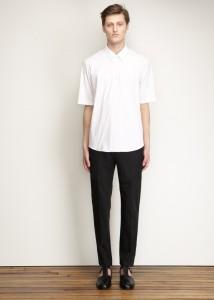 Jil Sander White Button Up $320