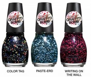 Graffitti Bomb Glitters SinfulColors 2015 nailpolish