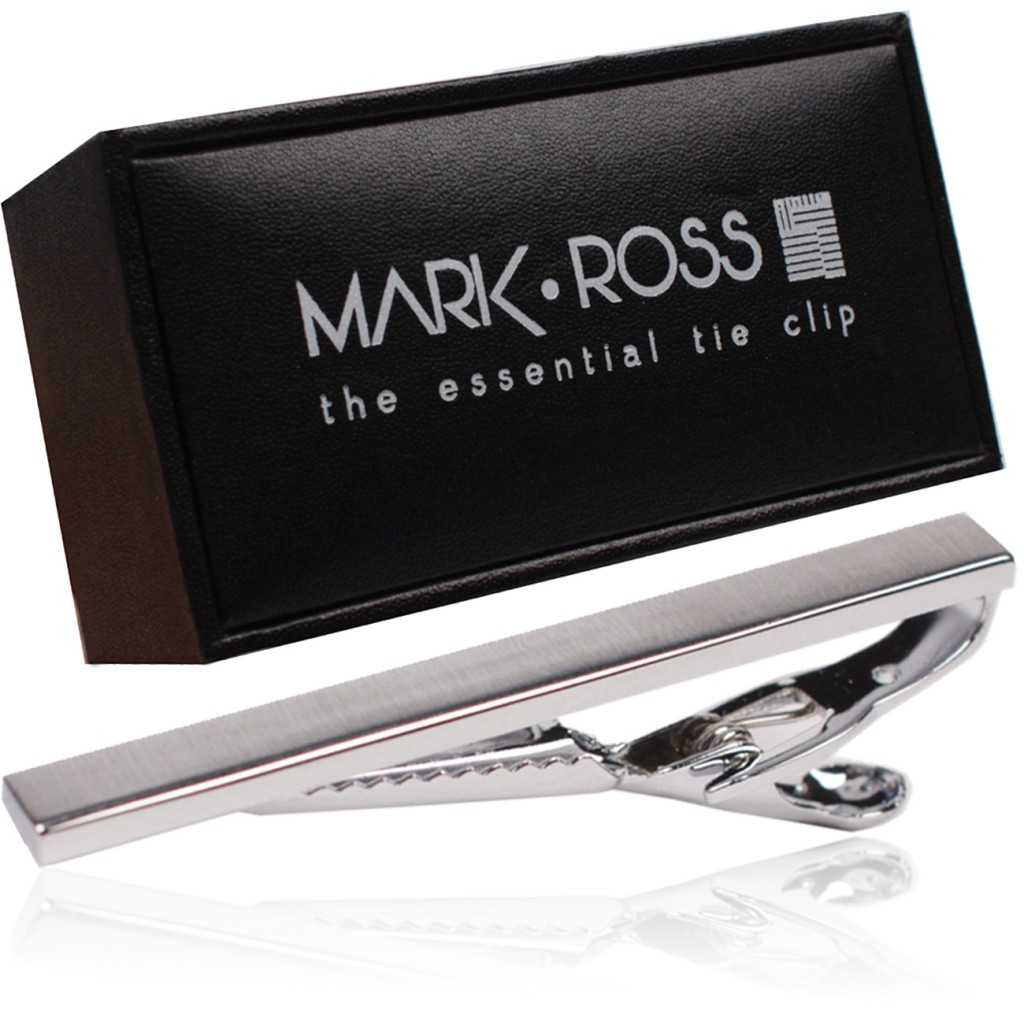 #MarkRossFashion stylish aluminum tie bar