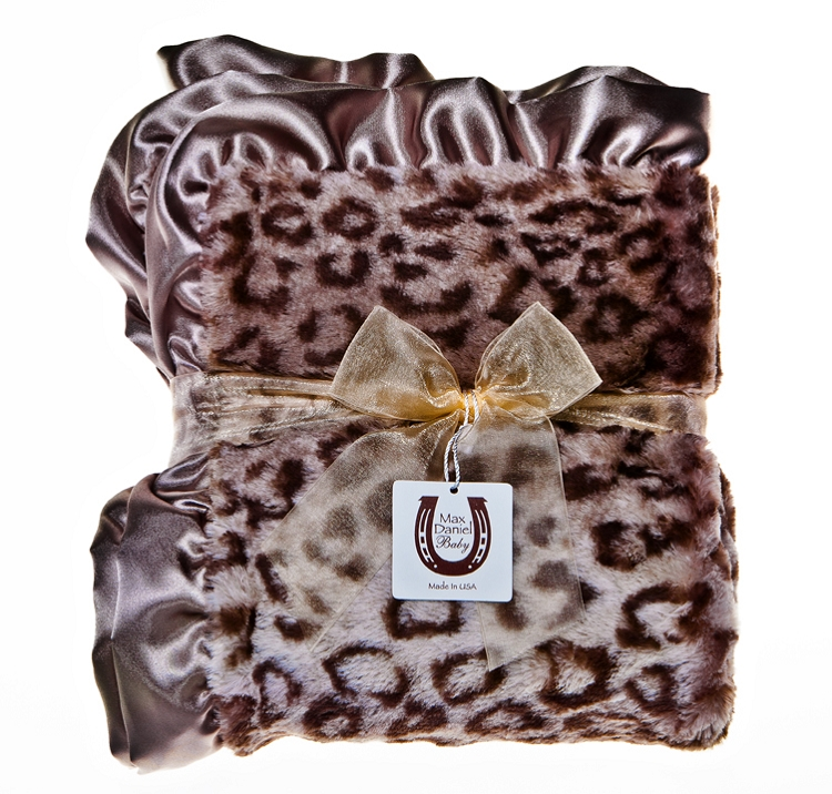 Max Daniel baby blankets are the ultimate baby gifts -- divinely soft, luxurious, and beautiful! Retail $76