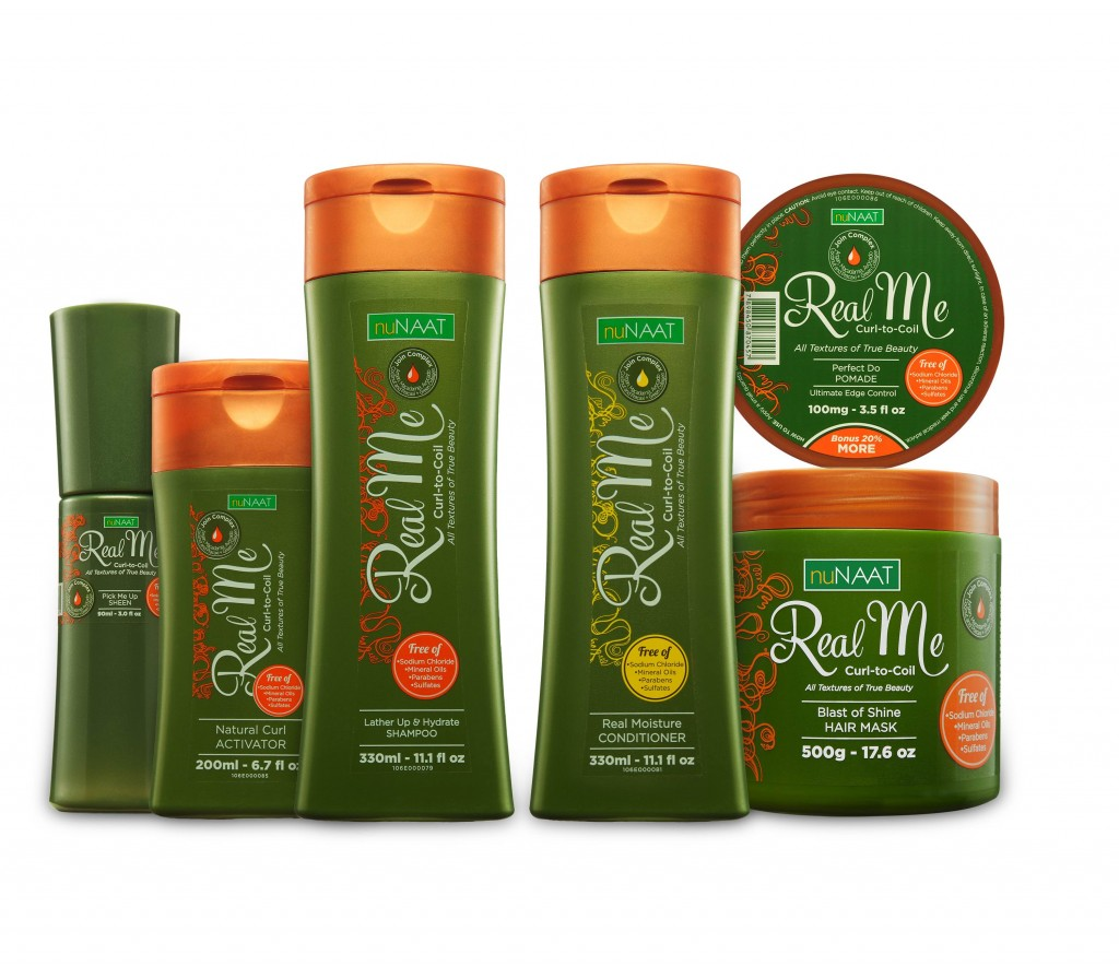 NuNAAT Real Me Collection curl to coil hair products