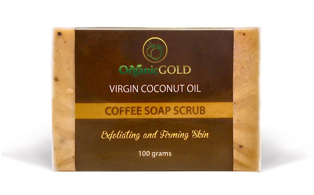 OrganicGOLD Coffee Soap Scrub